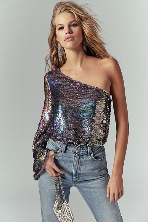 Free People - Top à sequins