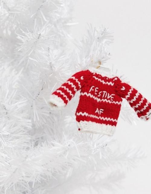 Typo - Mini pull Noël pour le sapin