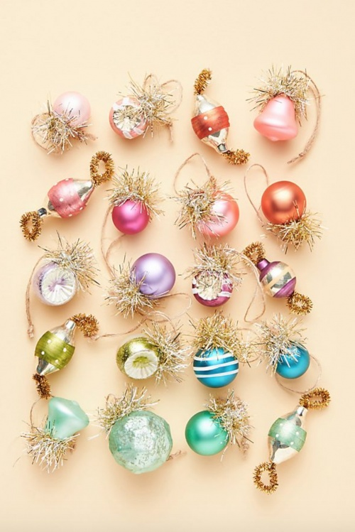 Anthropologie - Lot d'assortiments pour le sapin
