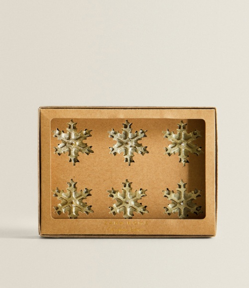 Zara home - Bougies flocons