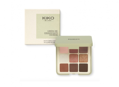 Kiko - New Green Me Eyeshadow Palette