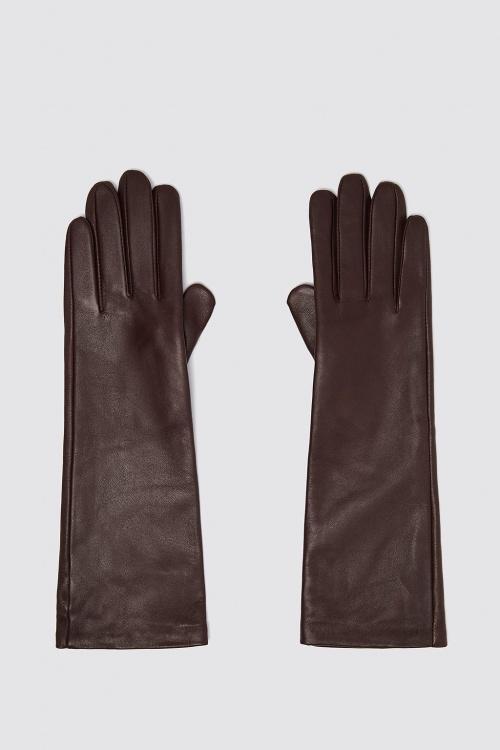 Zara - Gants longs en cuir