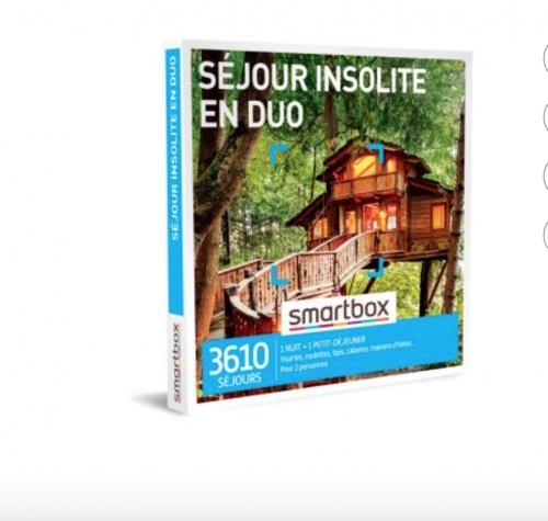 Smartbox - Coffret cadeau Séjour insolite en duo