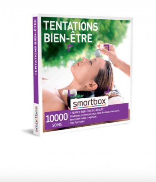 Smartbox - Coffret cadeau Tentations bien-être
