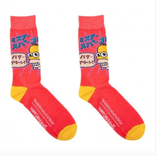 Zing - Chaussettes Simpsons