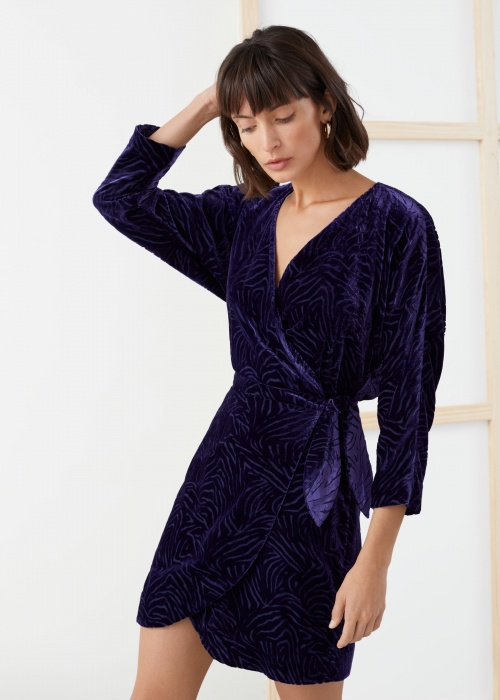 & Other Stories - Robe en velours