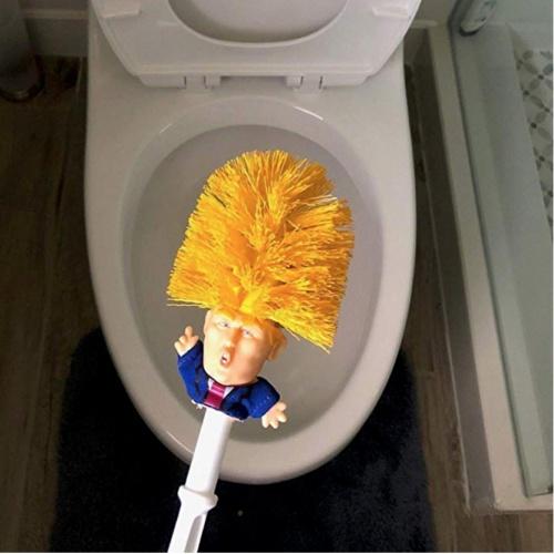 Amazon - Brosse toilettes Donald Trump