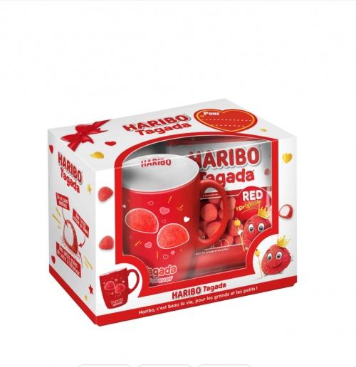 Haribo - Mug tagada et bonbons