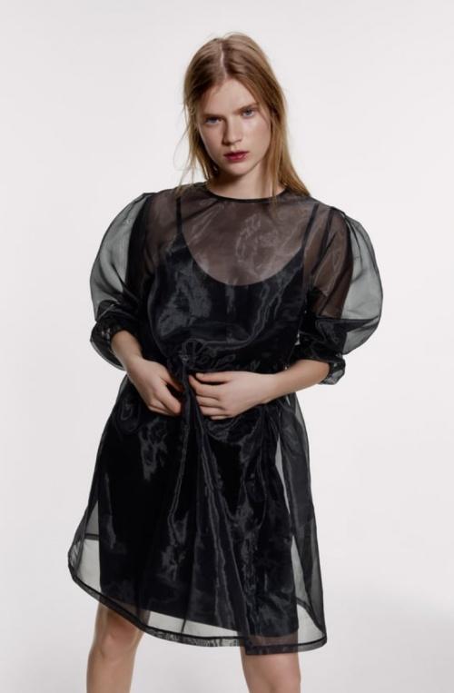 Zara - Robe en organza