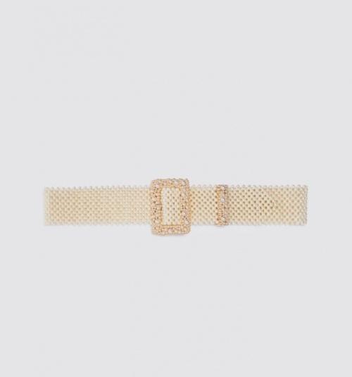 Zara - Ceinture à perles