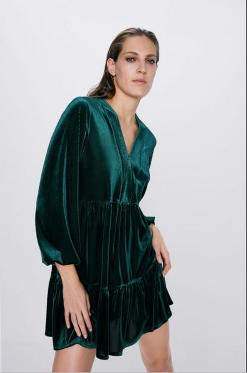 Zara - Robe courte ample