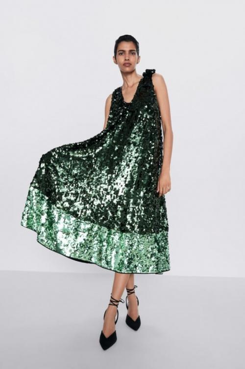 Zara - Robe paillettes