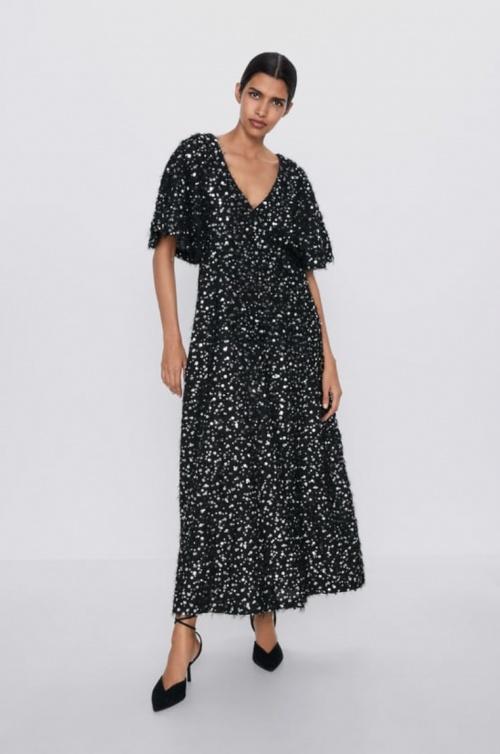 Zara - Robe à paillettes