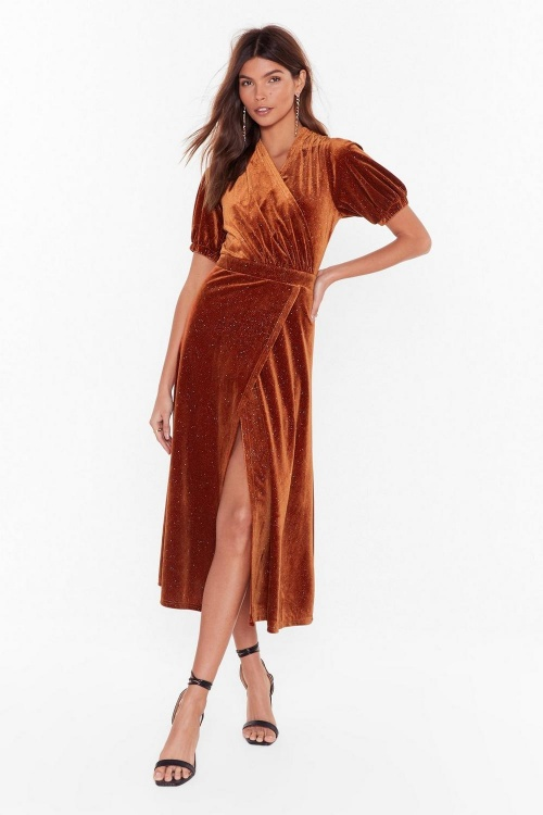 Nasty Gal - Robe en velours