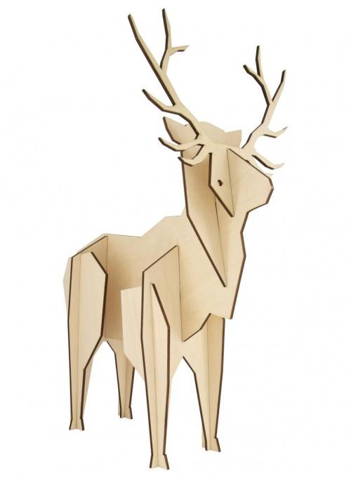Hema - Cerf en bois