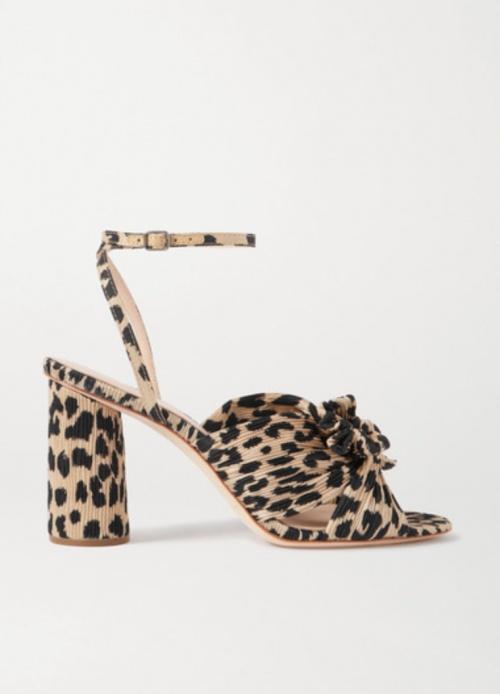 Loeffler  Randall - Sandales à talons léopard