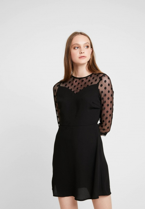 Only - Robe à pois