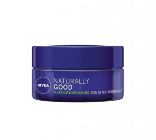 Nivea Naturally Good - Soin de nuit régénérant