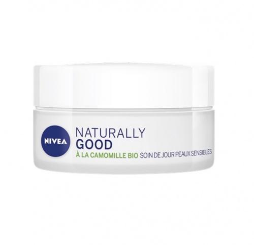Nivea Naturally Good - Soin de jour peaux sensibles