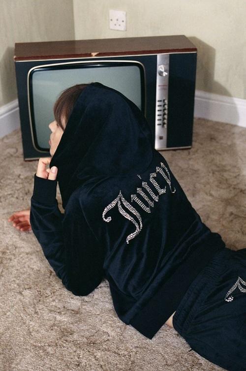 Juicy Couture - Sweat à capuche noir