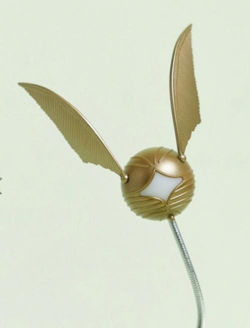 Harry Potter - Lampe clip vif d'or