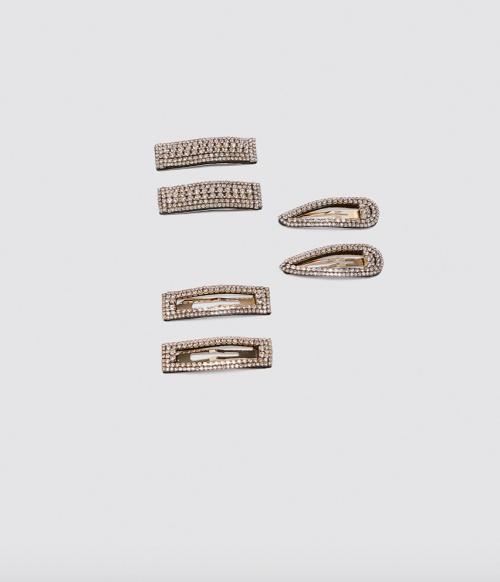Zara - Lot de petites barrettes
