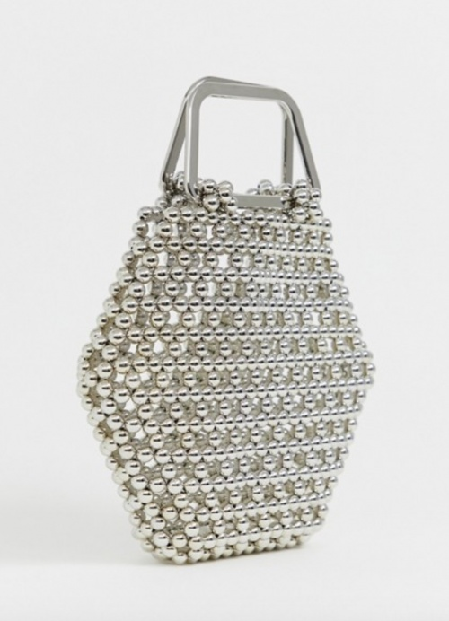 Asos Edition - Sac hexagonal