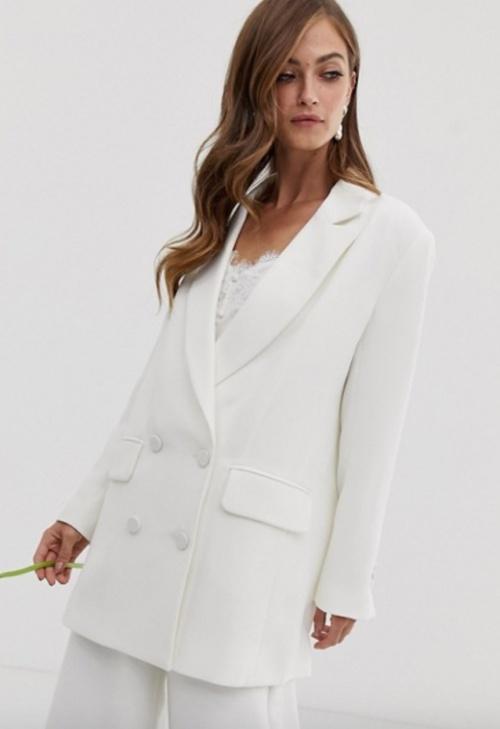 Asos Edition - Veste blanche