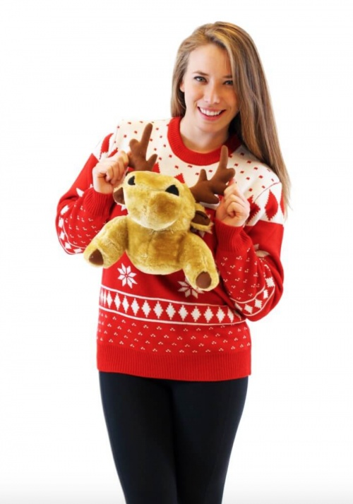 Ugly Christmas Sweater - Pull 3D