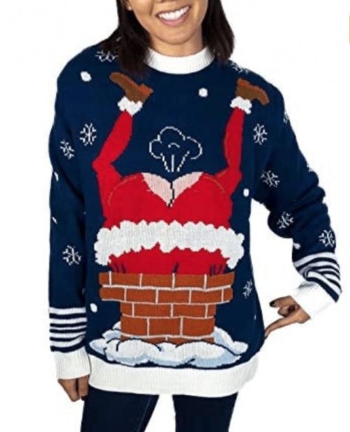 Le pull moche - Père Noël