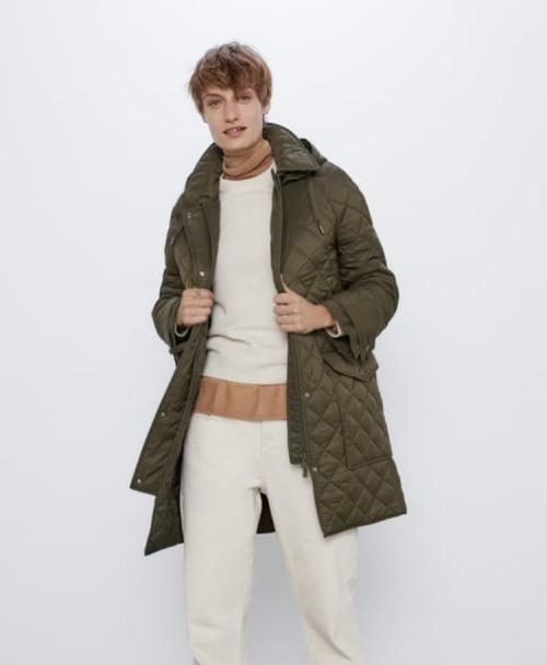 Zara - Manteau matelassé