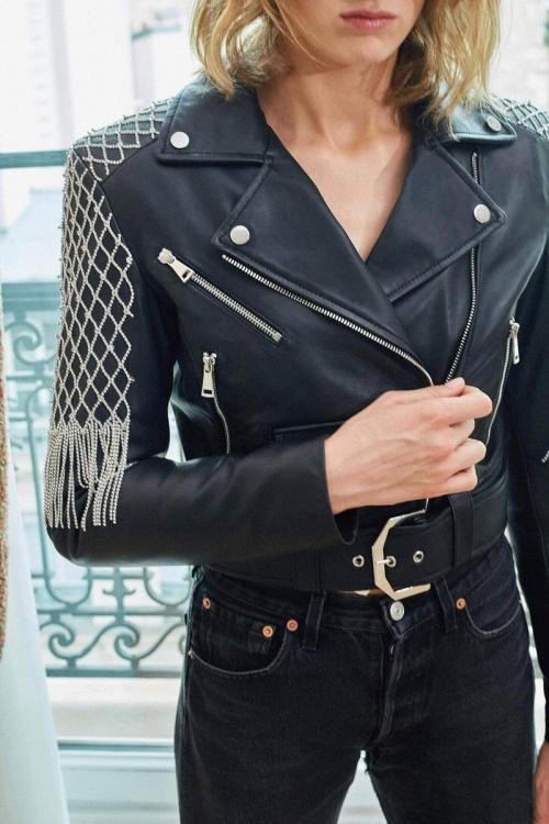 La Semaine Paris - Veste en cuir