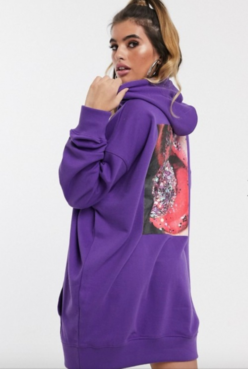 Missguided - Robe à capuche