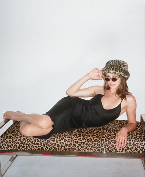 Realisationpar - Robe nuisette longue noire