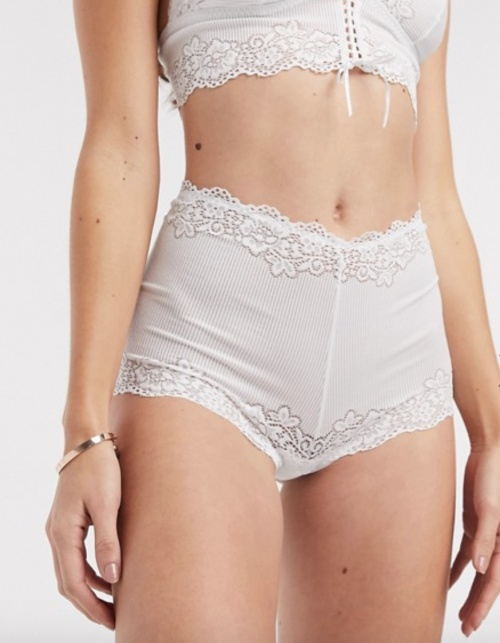 Free People - Culotte blanche