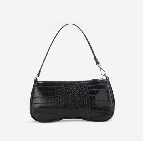 Friday by JW PEI - Sac baguette croco