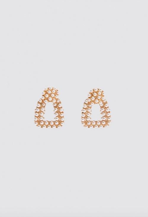 Zara - Boucles d'oreilles à perles