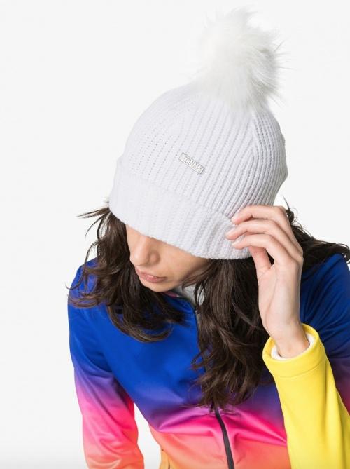 Colmar - Bonnet blanc pompon