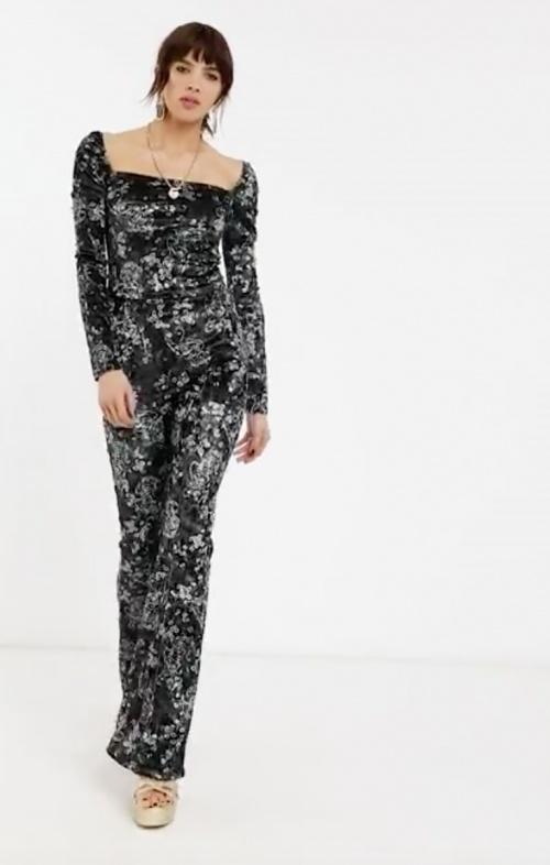 Bershka - Pantalon velours