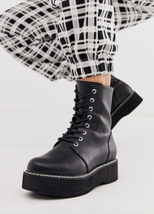 Asos Design - Bottines chunky