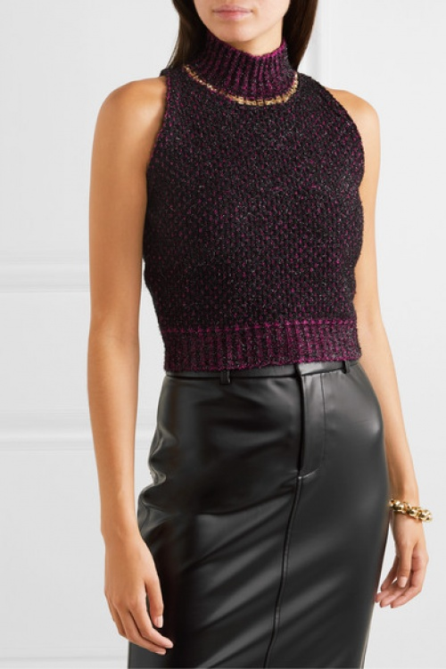 Versace - Pull sans manches