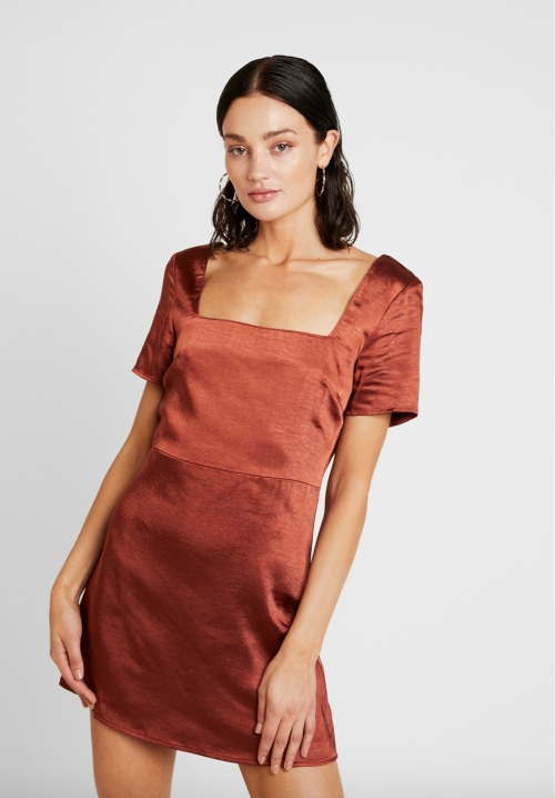 Honey Punch - Robe en satin