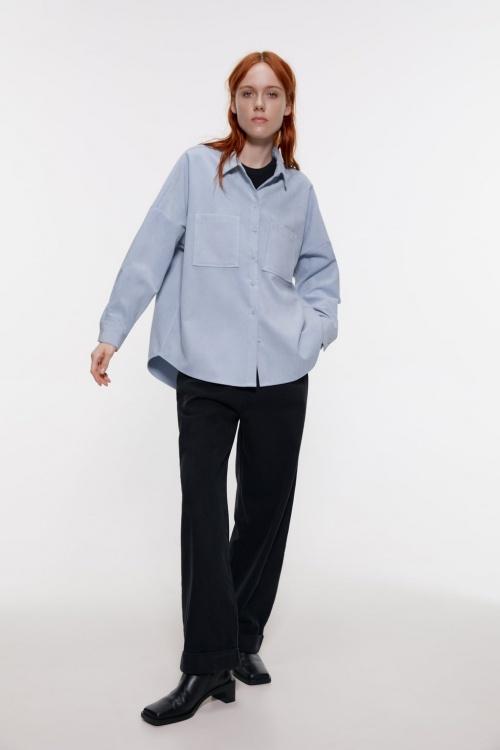 Zara - Chemise en velours