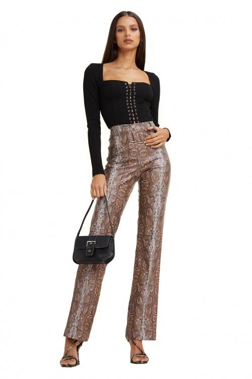 I AM GIA - Pantalon en simlili cuir
