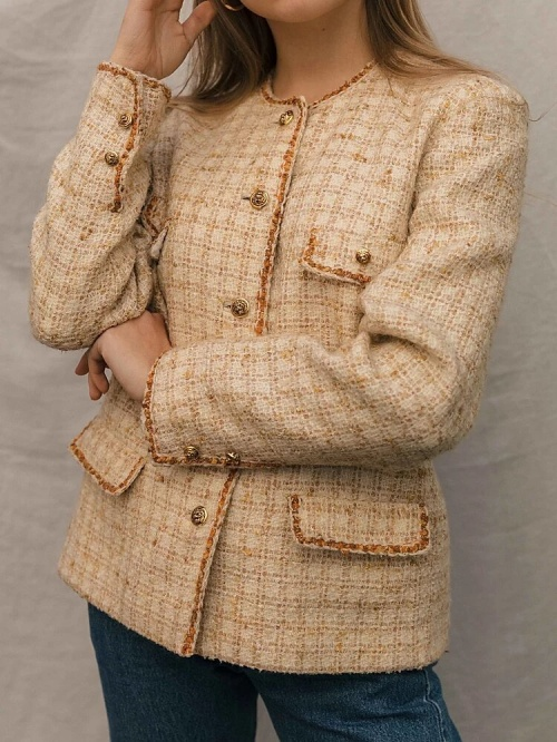 Meryl Paris - Veste en tweed