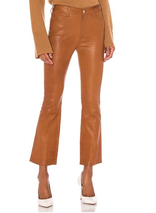 Frame - Pantalon simili cuir