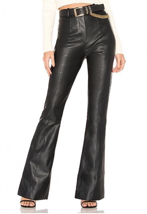 Majorelle - Pantalon simili cuir