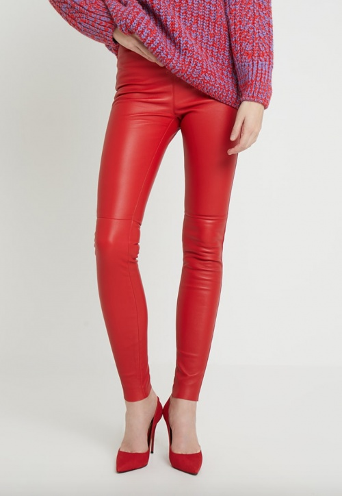Oakwood - Pantalon simili cuir skinny