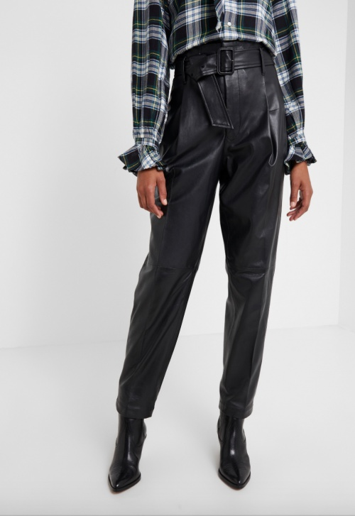 Polo Ralph Lauren - Pantalon simili cuir