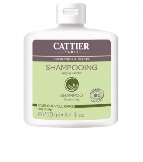 Cattier - Shampooing cheveux gras argile
